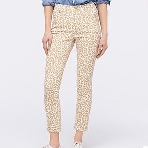 """J. Crew 10"""" High Rise Toothpick Jeans"""